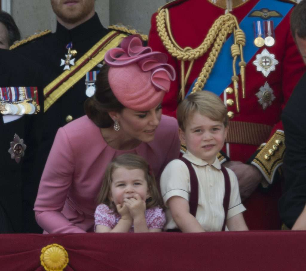 Księżna Kate - Trooping of the colour 2017 kreacja: Alexander McQueen