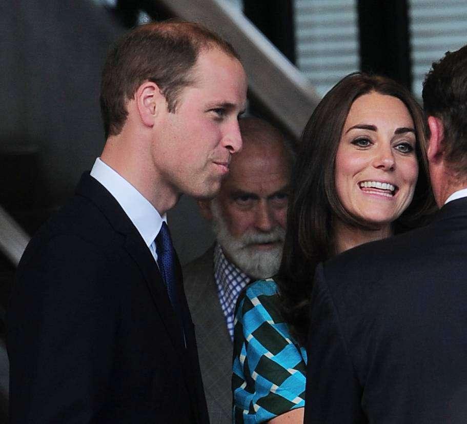 Księżna Kate w 2014 r.