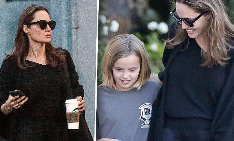 Coraz szczuplejsza Angelina Jolie brylowała na imprezie swojej córki. Wygląda jak cień samej siebie