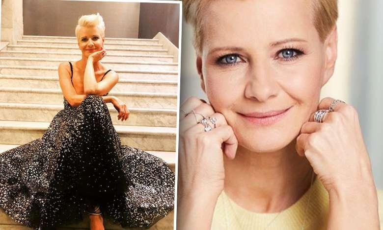 Mistrzyni! Małgorzata Kożuchowska w windzie zachwyciła bardziej niż na czerwonym dywanie!