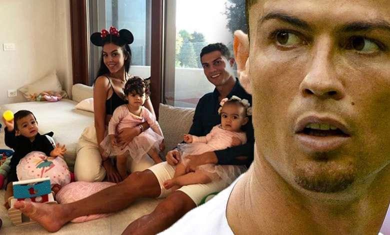 Cristiano Ronaldo i Georgina Rodriguez świętują Halloween z dziećmi