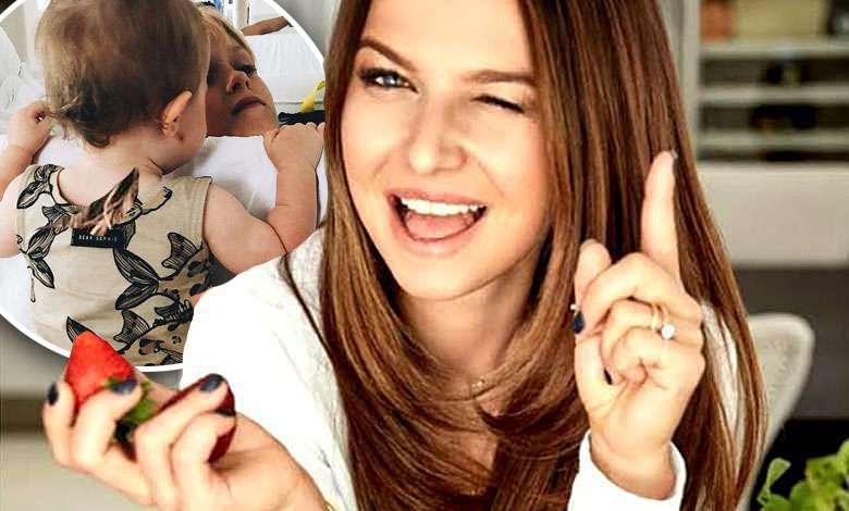 Anna Lewandowska Klara Lewandowska fryzjer