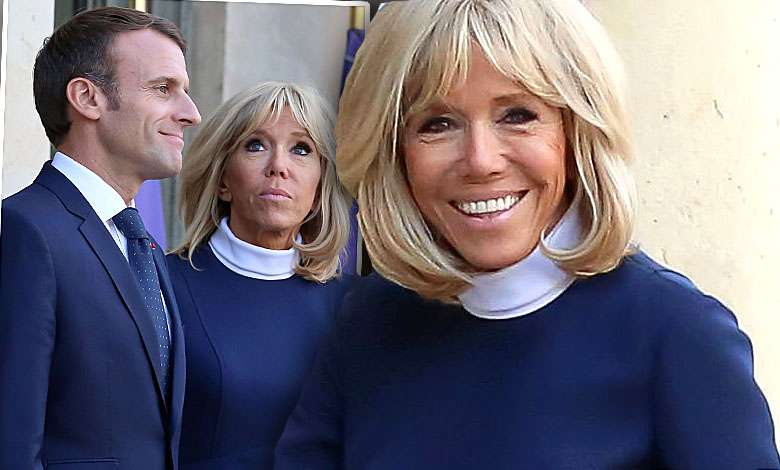 Brigitte Macron chude nogi