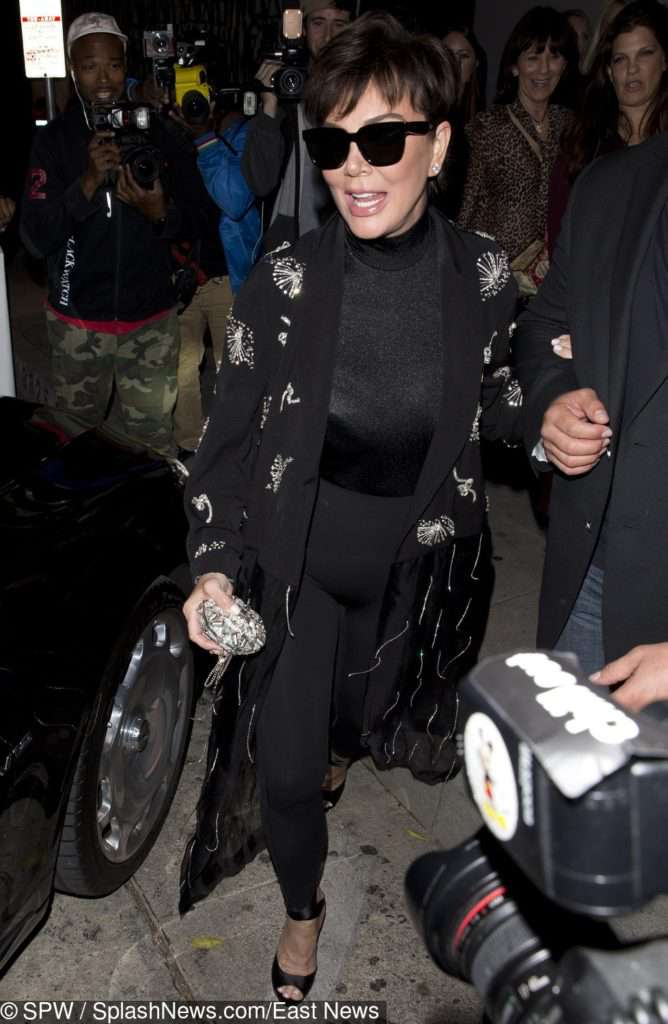 Kris Jenner na afterparty po American Music Awards 2018