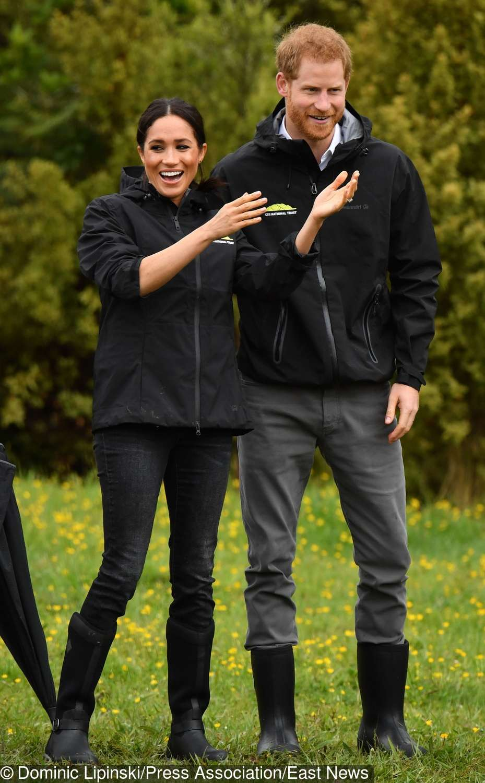 Meghan Markle i książę Harry sadzili drzewka w szkółce w Nowej Zelandii