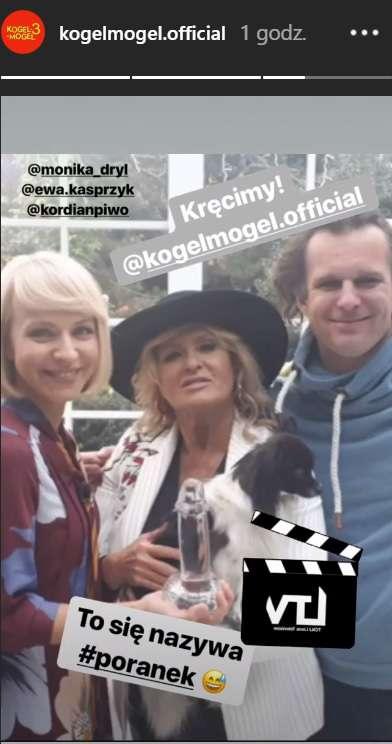 Ewa Kasprzyk w Kogel Mogel 3
