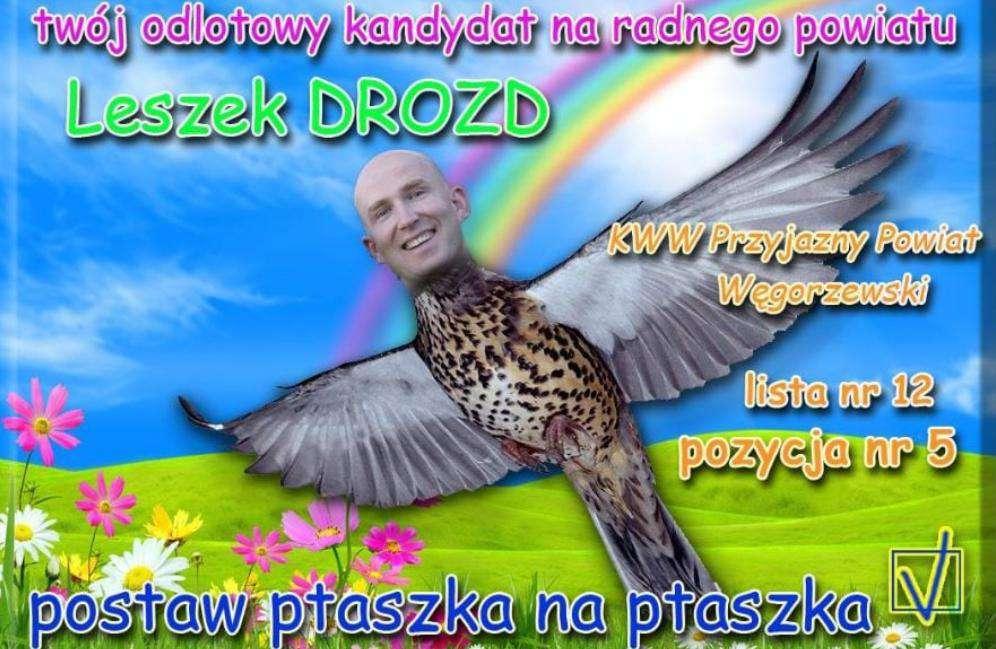 Leszek Drozd – plakat wyborczy