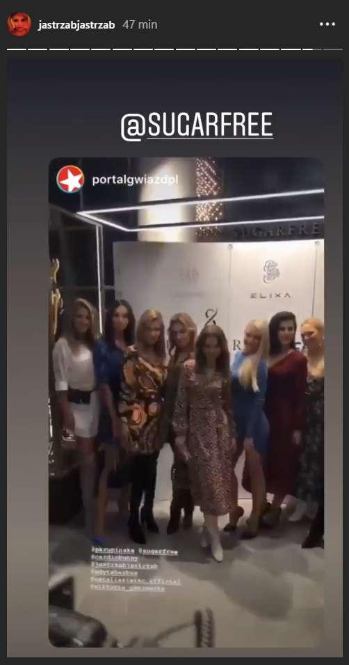 Gwiazdy leciały samolotem na otwarcie sklepu Sugarfree do Wrocławia