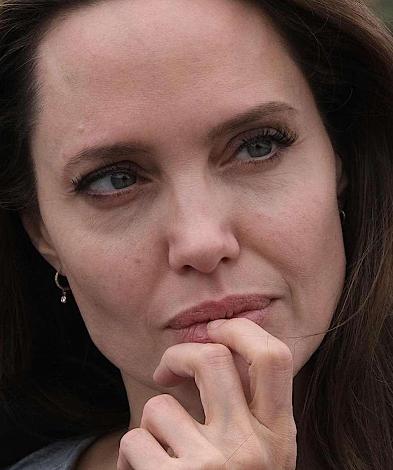 Angelina Jolie pokazała zmarszczki
