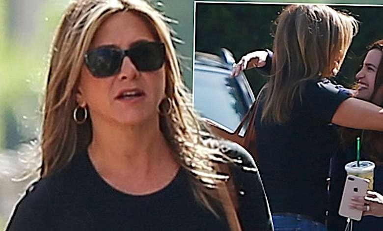 Jennifer Aniston na zakupach