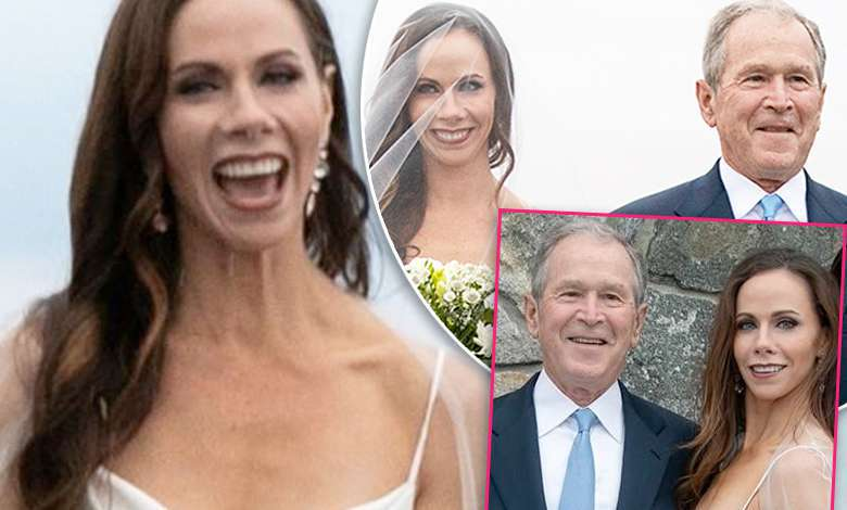 Barbara Bush ślub zdjęcia mąż suknia ślubna