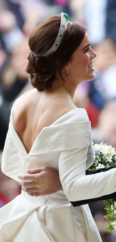 Księżniczka Eugenia pokazała bliznę podczas ślubu