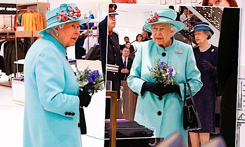 Królowa Elżbieta II przyłapana na zakupach
