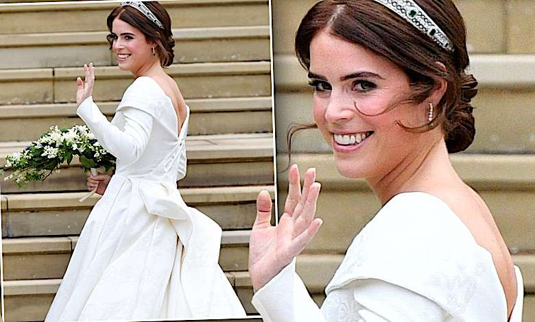 Księżniczka Eugenia ślub zdjęcia suknia ślubna
