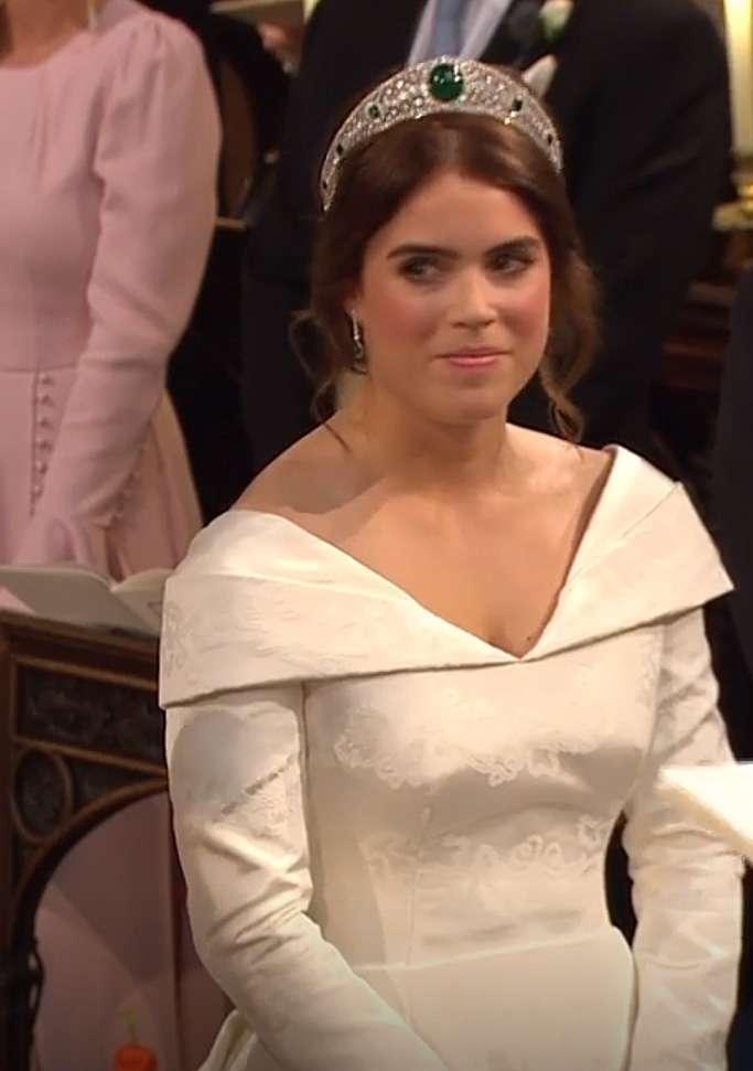 Zdjęcie (8) Mąż księżniczki Eugenii tak zachwycił się jej suknią ślubną, że aż zaliczył zabawną gafę! Oto, co jej powiedział