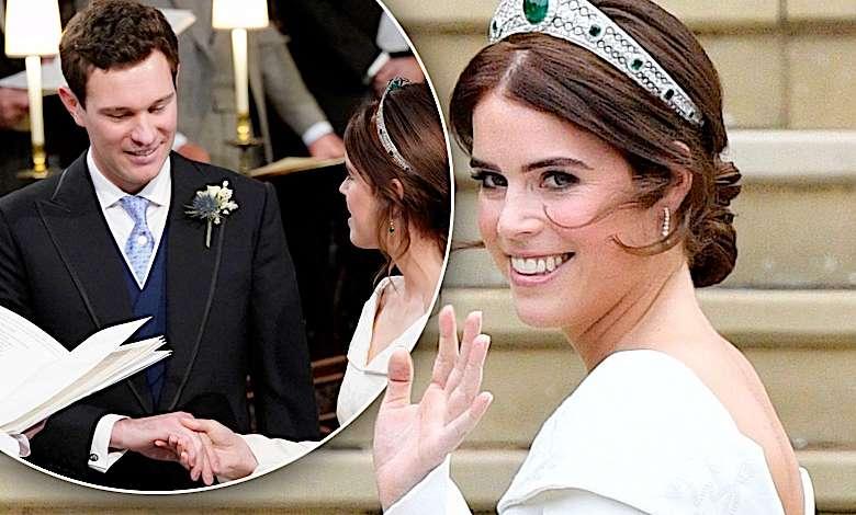 Jack Brooksbank, suknia ślubna księżniczki Eugenii
