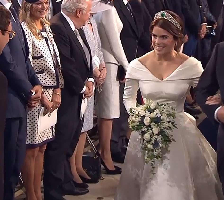 Zdjęcie (10) Mąż księżniczki Eugenii tak zachwycił się jej suknią ślubną, że aż zaliczył zabawną gafę! Oto, co jej powiedział