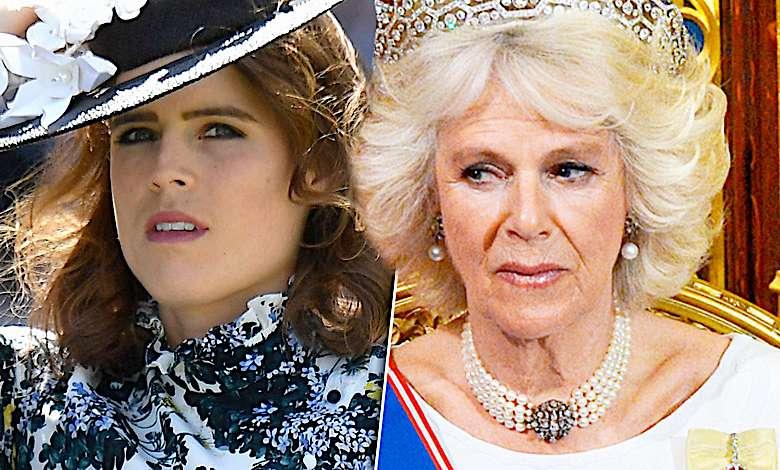 Księżna Camilla i księżniczka Eugenia