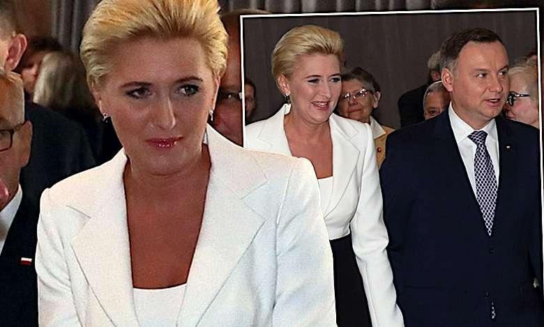 Modowe szaleństwo Agaty Dudy w Watykanie! Jej czarna ozdoba to marzenie wszystkich fashionistek