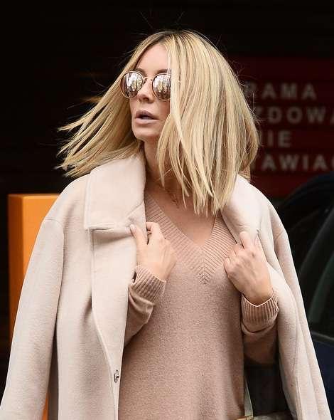 Nowa fryzura Małgorzaty Rozenek przed