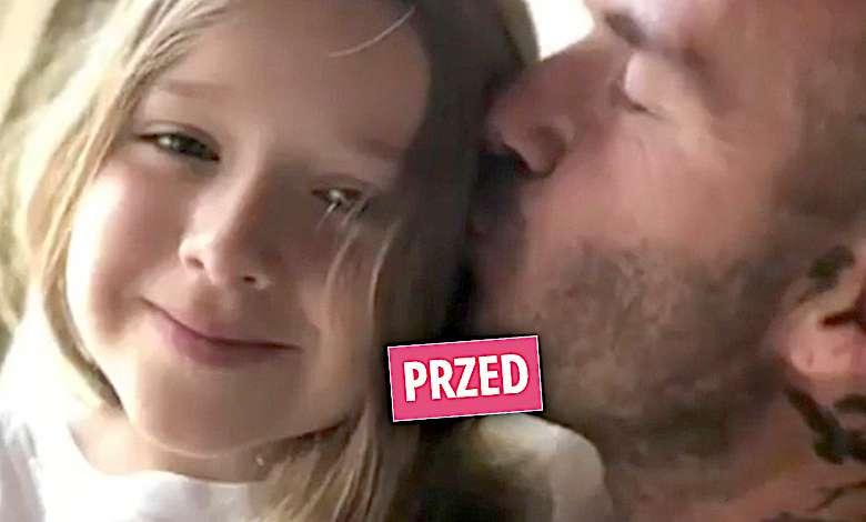 Harper Beckham nowa fryzura
