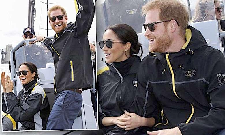 Książę Harry i Meghan Markle w Sydney