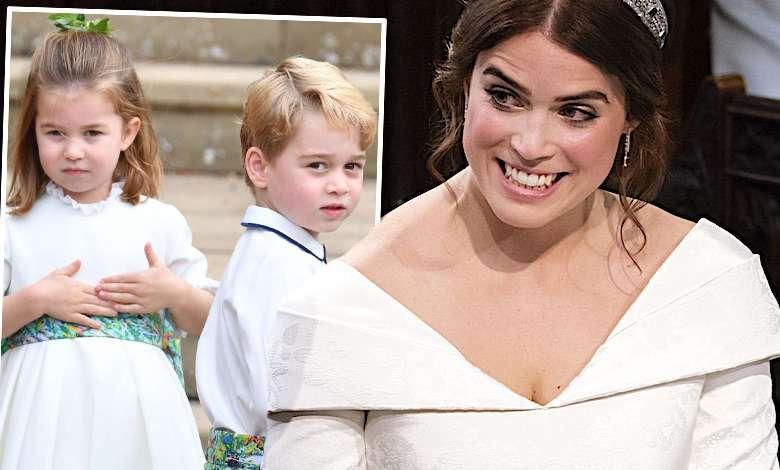 Książę George księżniczka Charlotte ślubne portrety