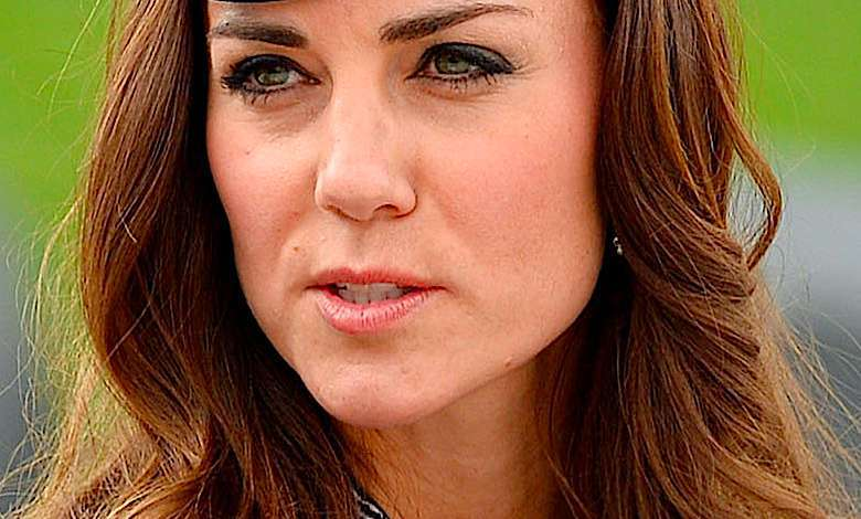 Księżna Kate wpadka