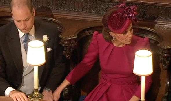 Księżna Kate i książę William okazywali sobie czułość w kościele