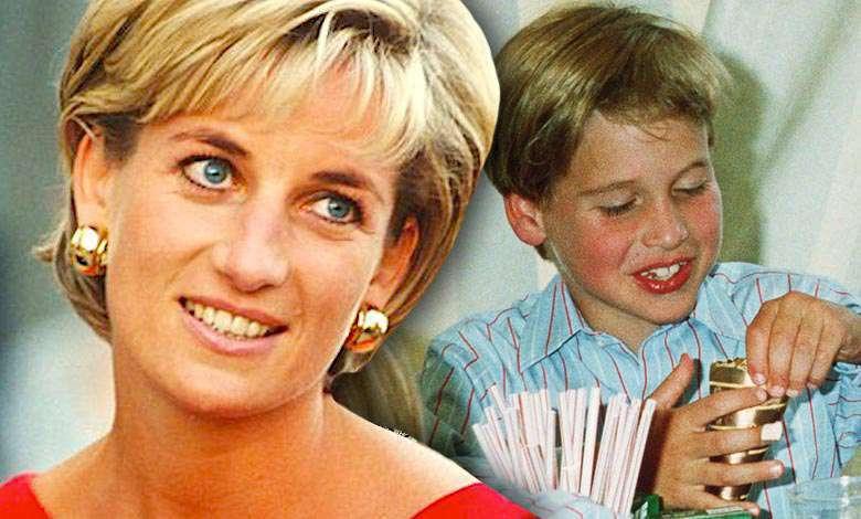 Księżna DIana książę William