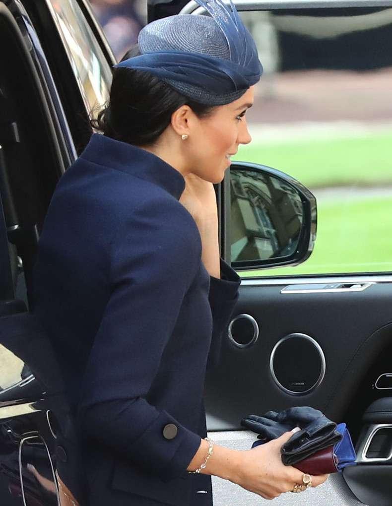 Jak Meghan Markle ubrała się na ślub księżniczki Eugenii?