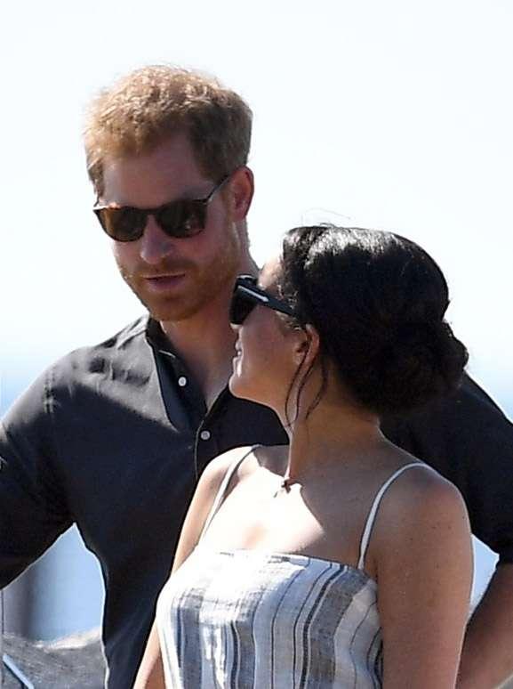 Meghan Markle i książę Harry w Australii