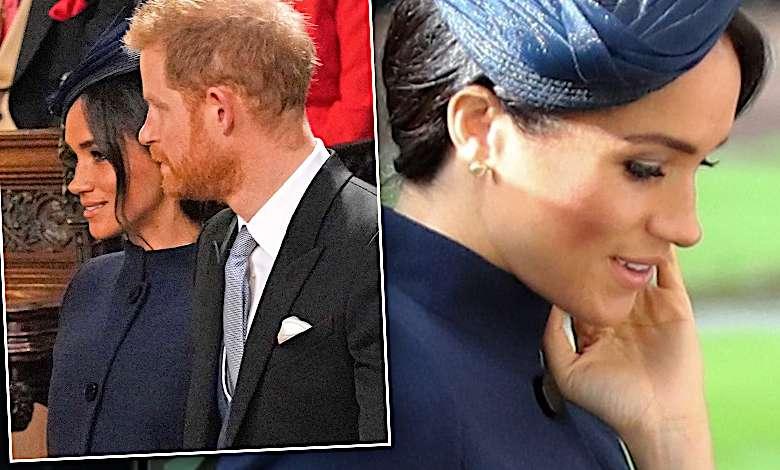ślub księżniczki Eugenii - stylizacja Meghan Markle