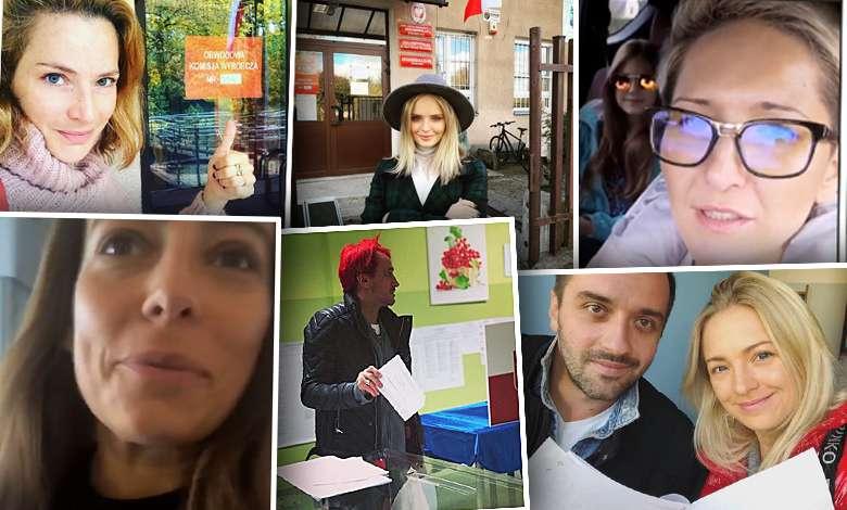 Gwiazdy nie zawiodły! Tłumnie wybrały się by głosować w wyborach samorządowych: Wiśniewski, Dereszowska, Kurdej-Szatan, Kalicka, Steczkowska, Mucha
