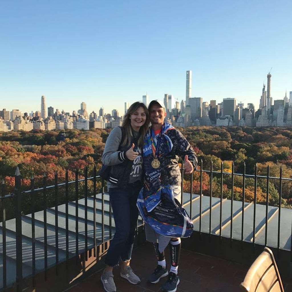 Małgorzata Socha i Krzysztof Wiśniewski w Nowym Jorku