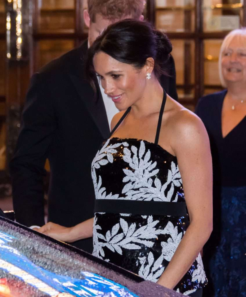 Meghan Markle na Royal Variety Performance