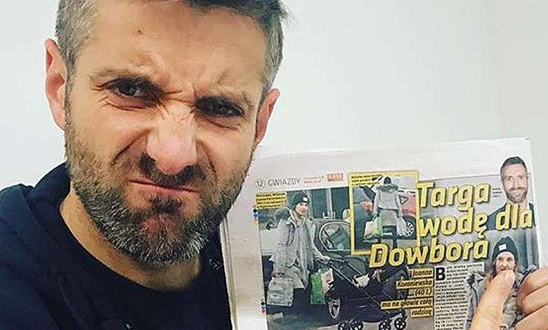Maciej Dowbor wytknął błąd tabloidowi