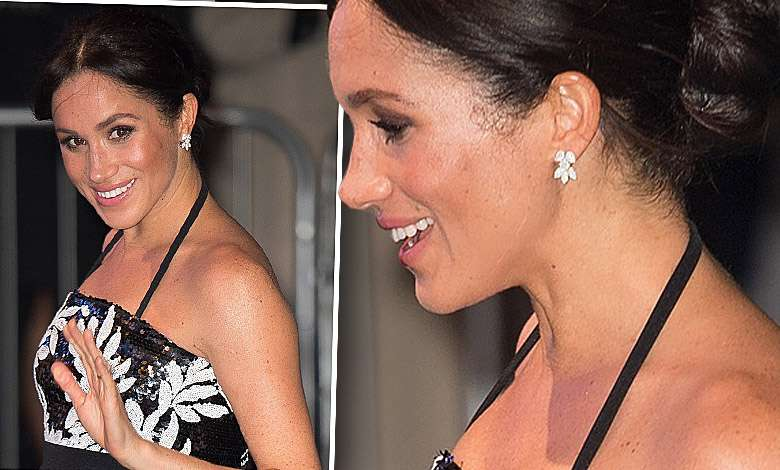 Ciążowy brzuszek Meghan Markle skradł całą uwagę na Royal Variety Performance! Widać go jak na dłoni