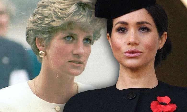 Meghan Markle księżna Diana