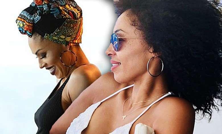 Omenaa Mensah ciążowy brzuszek