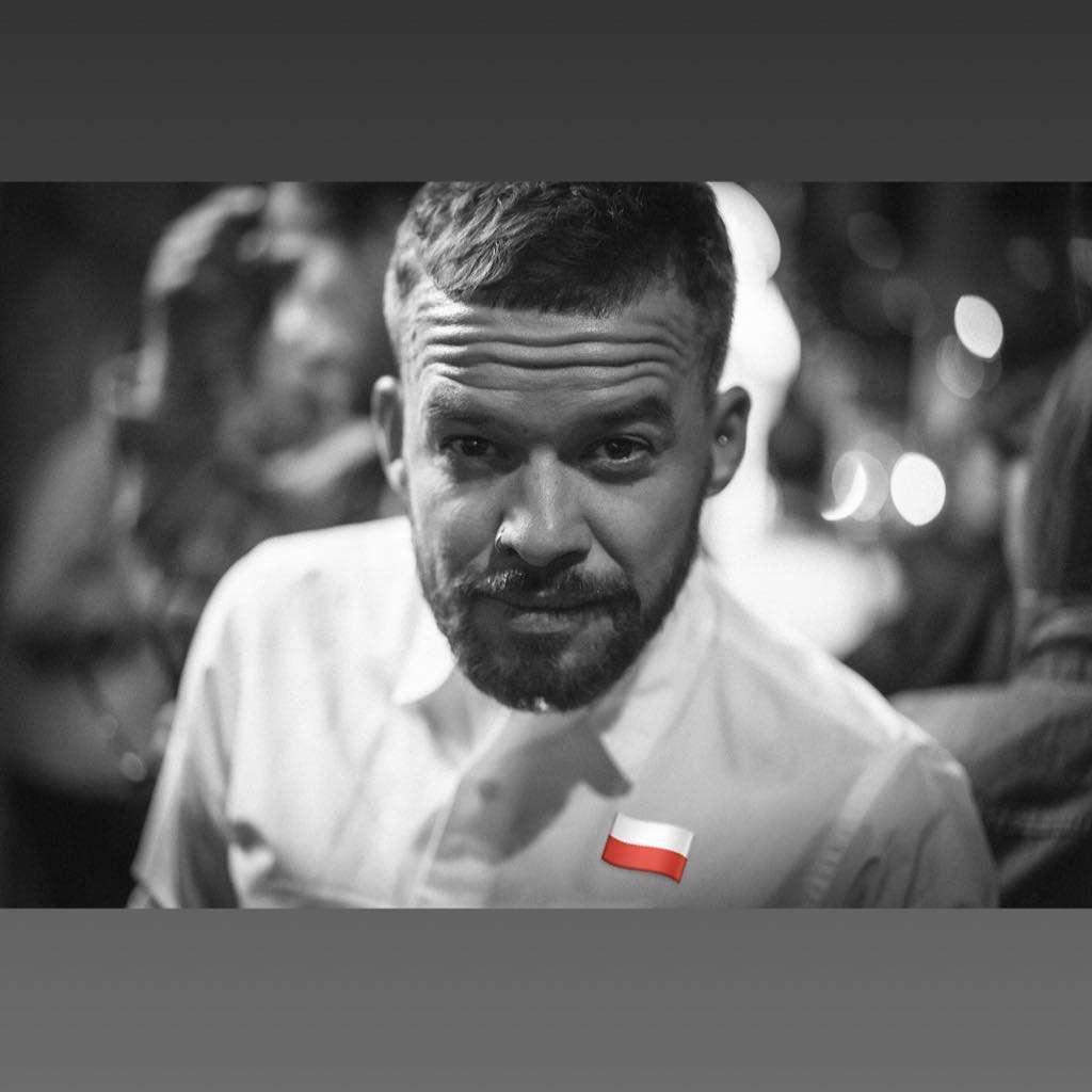 Michał Piróg świętuje 100-lecie niepodległości Polski