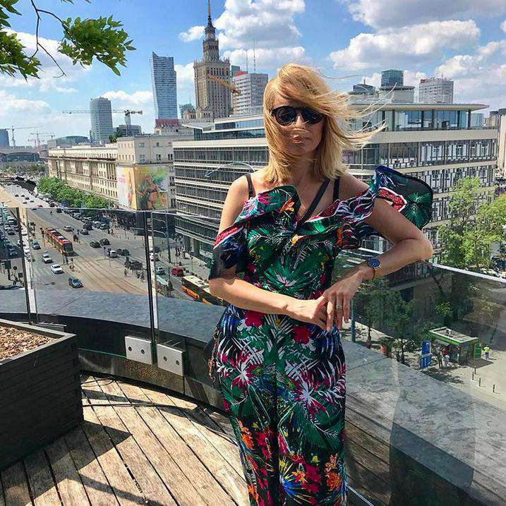 Marta Wieniawa na Instagramie