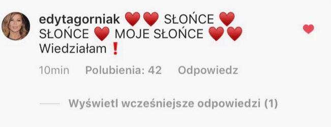 Edyta Górniak gratuluje Roksanie Węgiel wygranej na Eurowizji Junior 2018