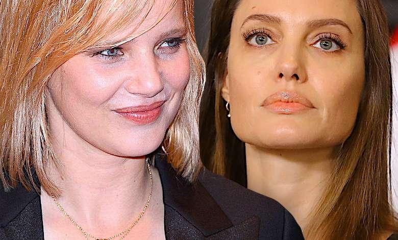 Joanna Kulig Angelina Jolie