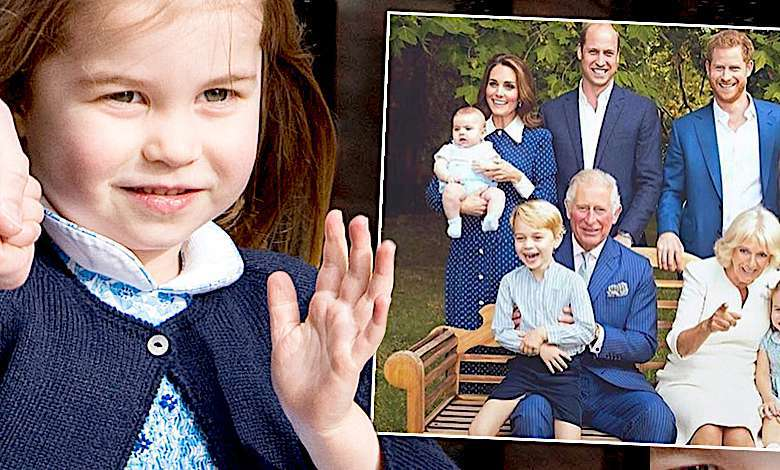 Przeurocza księżniczka Charlotte przyćmiła debiut księcia Louisa w rodzinnej sesji! Genialne fotografie z okazji 70 urodzin Karola