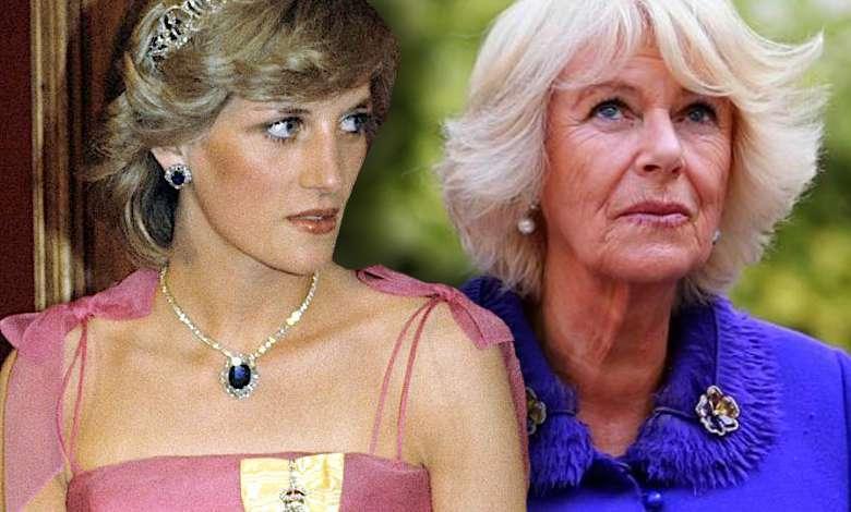 Księżna Camilla księżna Diana