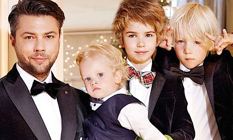 Olivier Janiak dzieci synowie