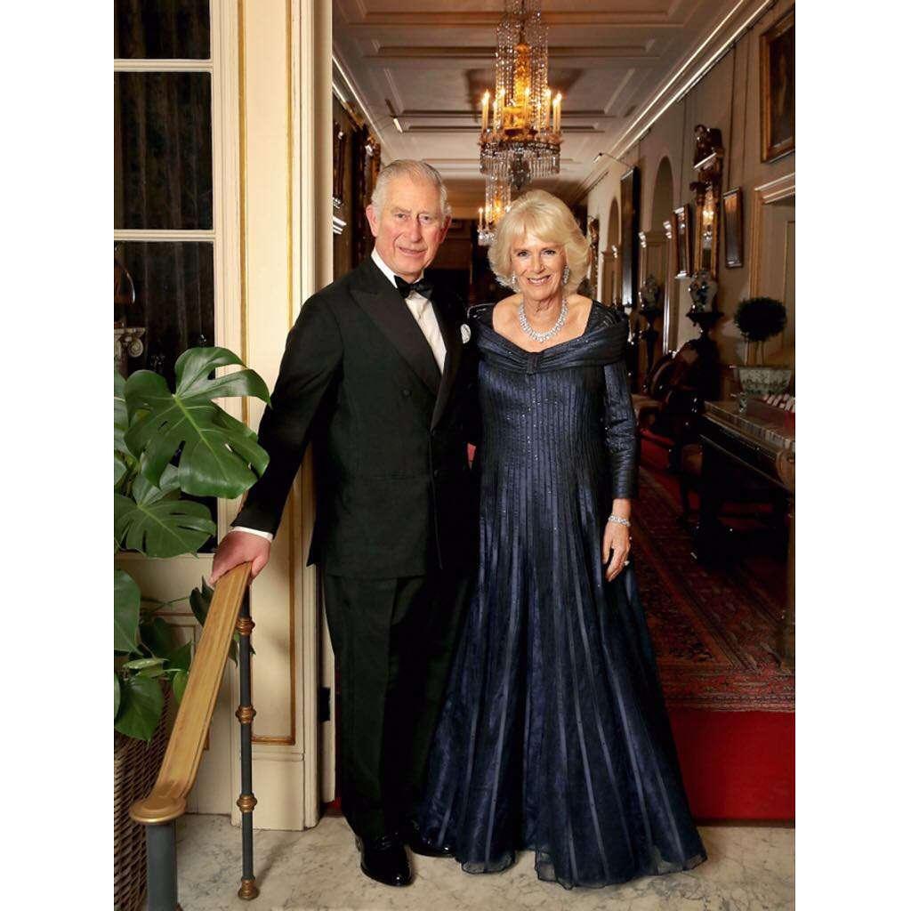 Książęca para na 70 urodzinach księcia Karola