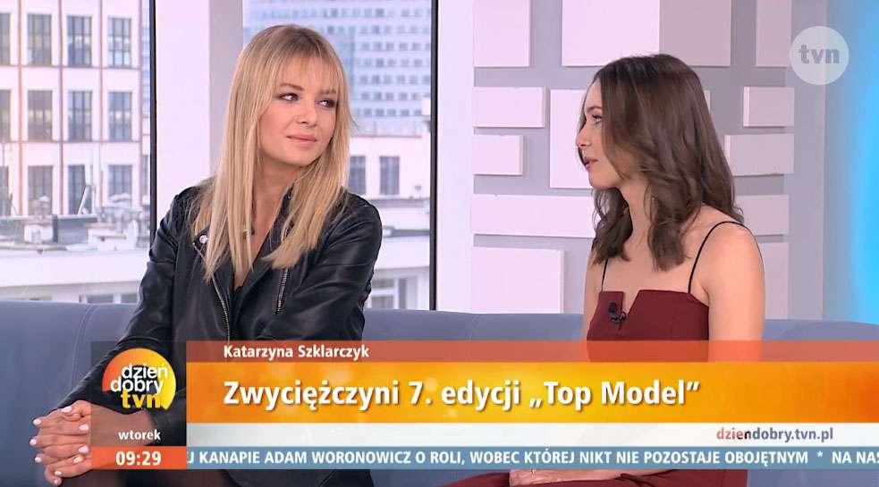 Kasia Szklarczyk z siostrą w