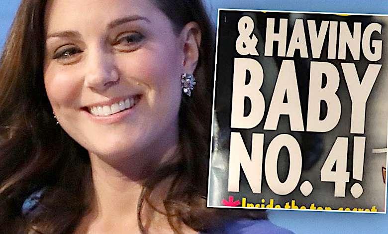 Księżna Kate czwarta ciąża